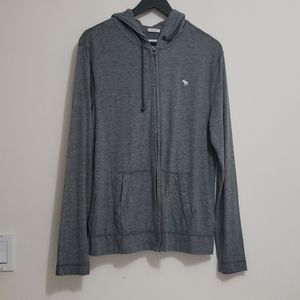 Abercrombie & Fitch Men's Full Zip Light Hoodie